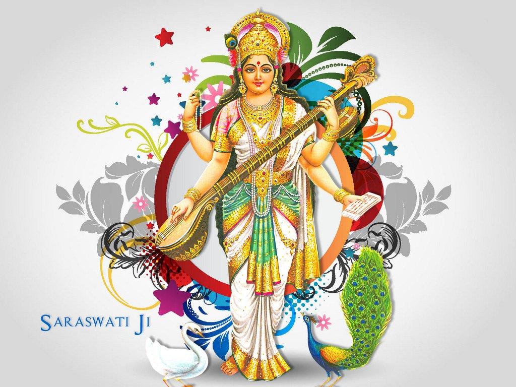 Maa Saraswati Hindu Goddess Saraswati Hd Images God Wallpaper