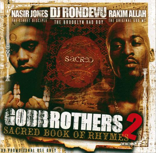 DJ Rondevu: Nas & Rakim 'Godbrothers 2' (Mixtape)