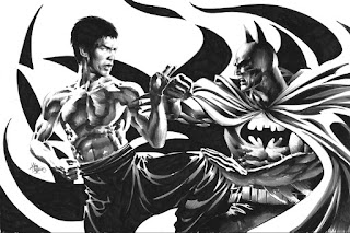 Batman Vs Bruce Lee