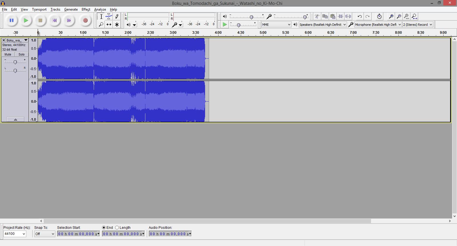 Shinjie: Audacity : Free Open Source Audio Editor