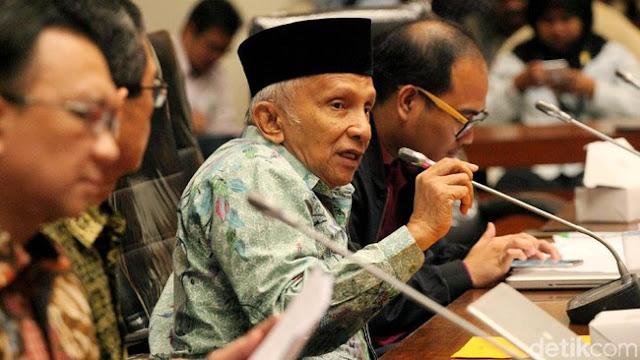 Buat Petisi, Amien Rais Tantang Jokowi Rebut Blok Rokan dari Chevron