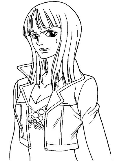 anime manga one piece coloring pages printable
