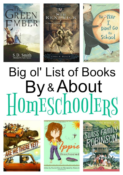 Big ol' List of Books By & About Homeschoolers