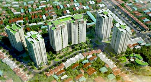 Phối cảnh dự án Premier Berriver Nguyễn Văn Cừ