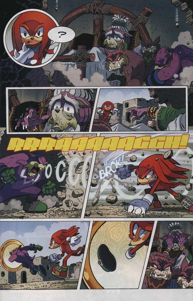 Read online Sonic The Hedgehog comic -  Issue #246 - 11