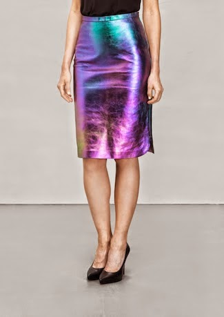 Item of the week: &Other Stories leather skirt