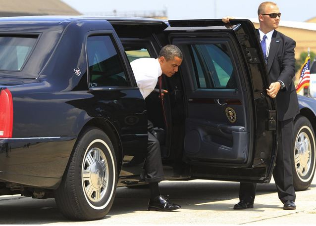 Look Inside The Us President Car Cadillac One Limo In Dar Es