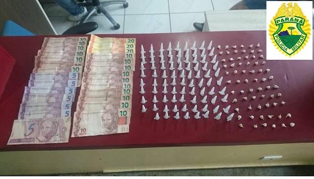 ROTAM prende mais um traficante em Colombo