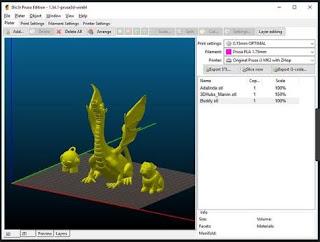 أفضل, وأحدث, برنامج, متطور, لطباعة, نماذج, ثرى, دى, ( ثلاثية, الأبعاد, ), Slic3r