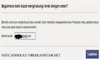 Tips Jitu Membuka Acount Facebook Yang Terkunci
