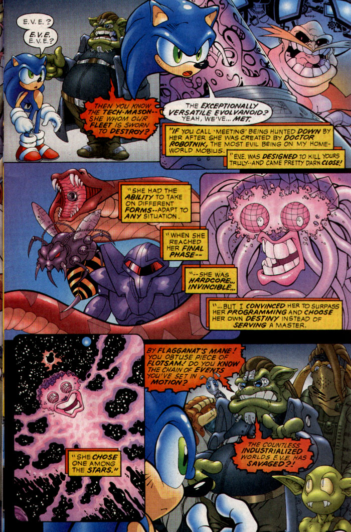 Read online Sonic The Hedgehog comic -  Issue #128 - 6