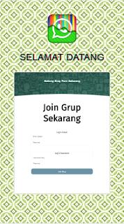 SC Phising Grup WhatsApp ( WA ) hari Ini