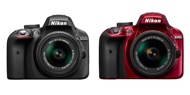 Nikon D3400 vs D3300 Review