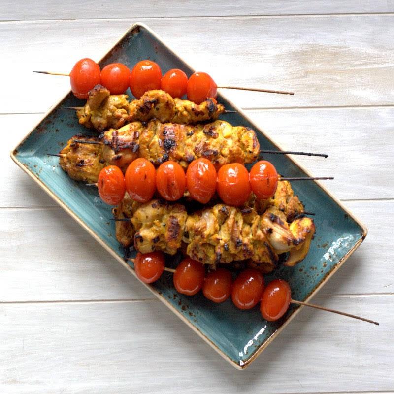 Joojeh-Kebab, persische Safranhühnchen aus Zart und Saftig von Petra Hammerstein