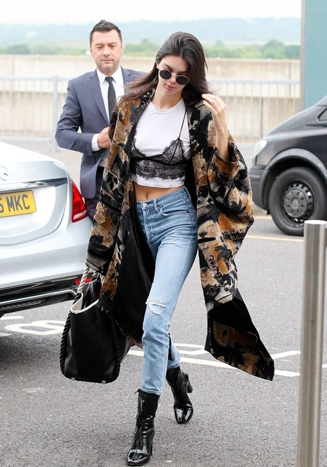 Street Style: Kendall Jenner