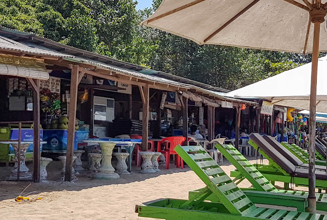 Beach shacks Sanur Seminyak Bali things to do
