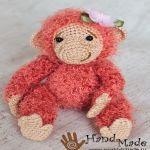 patron gratis mono cheburashka amigurumi   amigurumi free pattern monkey cheburashka