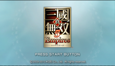 【PSP】真‧三國無雙 5 帝王傳(Dynasty Warriors 6 Empires)!