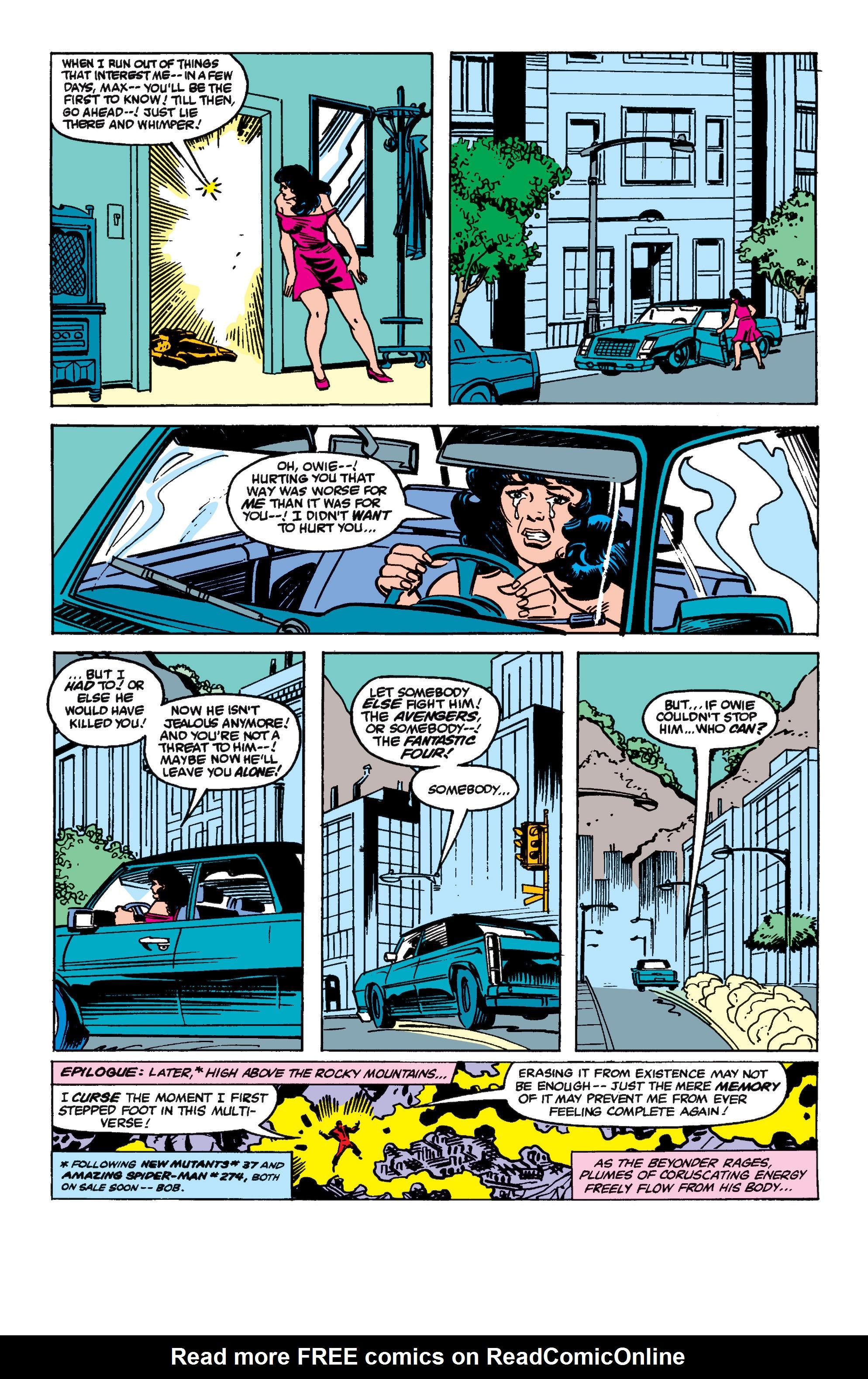 Read online Secret Wars II comic -  Issue #8 - 27