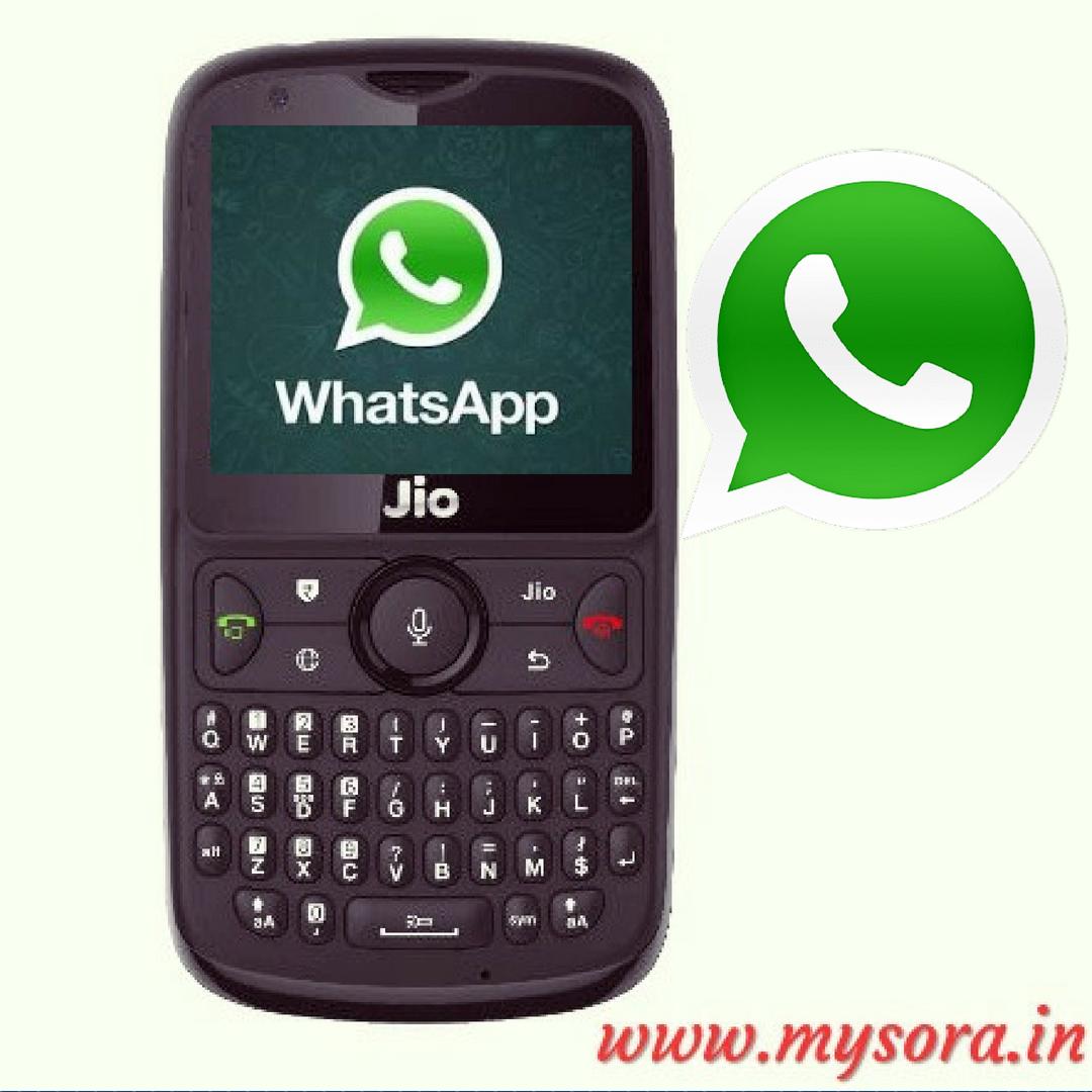 install whatsapp on my jio phone