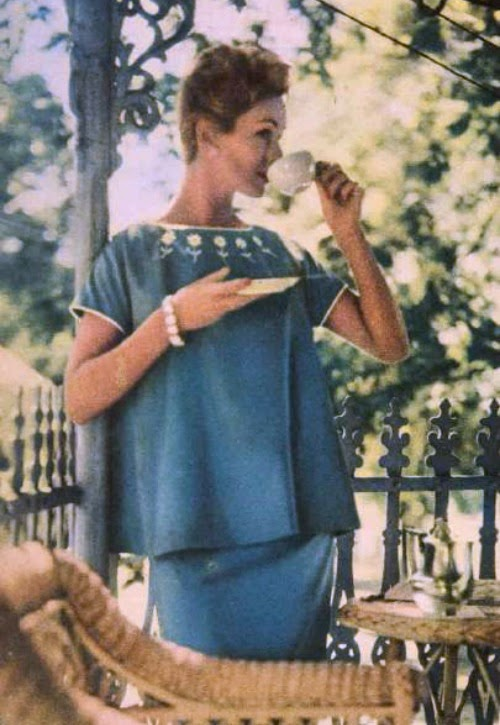 1957 maternity fashion aww