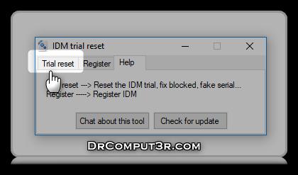 Idm Reset Trial 2018