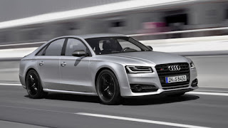 The Audi S8 plus is luxury sedan
