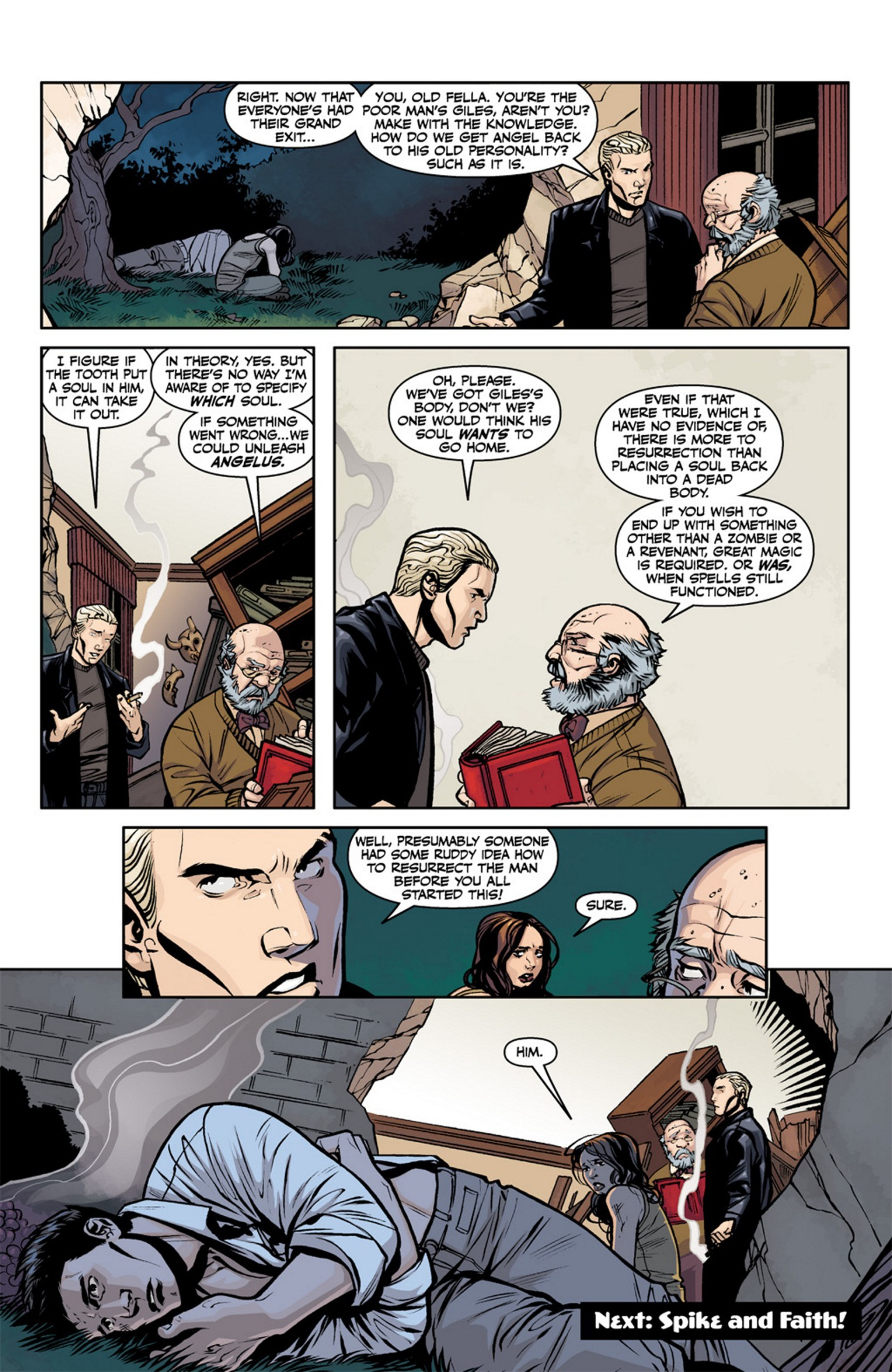 Read online Angel and Faith comic -  Issue #19 - 26