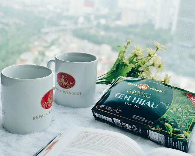 teh hijau kepala djenggot review