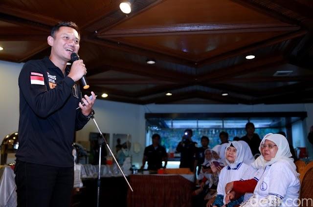 Agus Yudhoyono: Saya Bukan Gubernur Survei