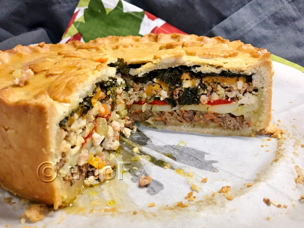 A Harmony Of Flavors A Great Big Savory Pie To Try