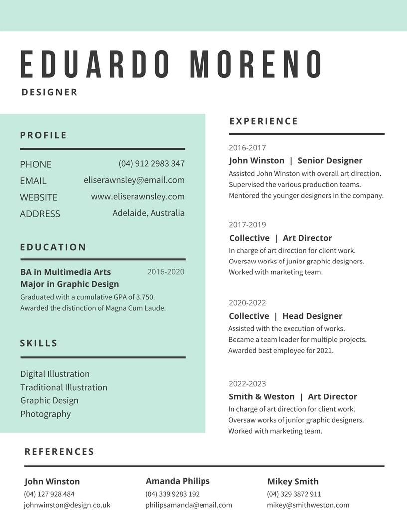 Edulcoro el empleo 2.0: Hacer un buen CV