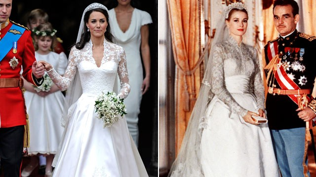 It Was Elegant Clic Very 1950 S With A Strong Nod To Grace Kelly Helen Rose Designed Gown When She Wed Prince Rainer Of Monaco