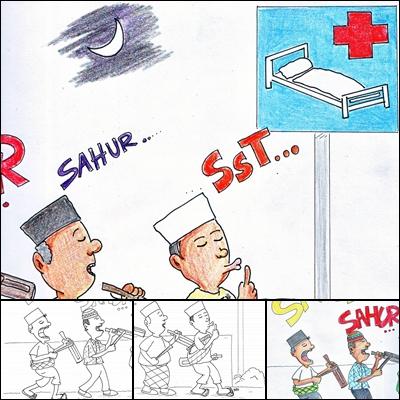 Unduh 570  Gambar Animasi Kartun Ramadhan HD Terbaru