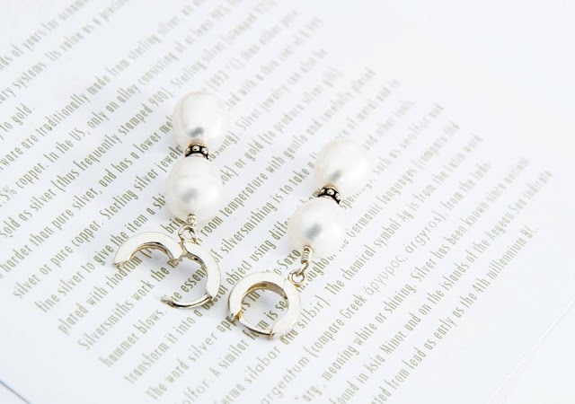 Bridal earrings by Colorissima...!