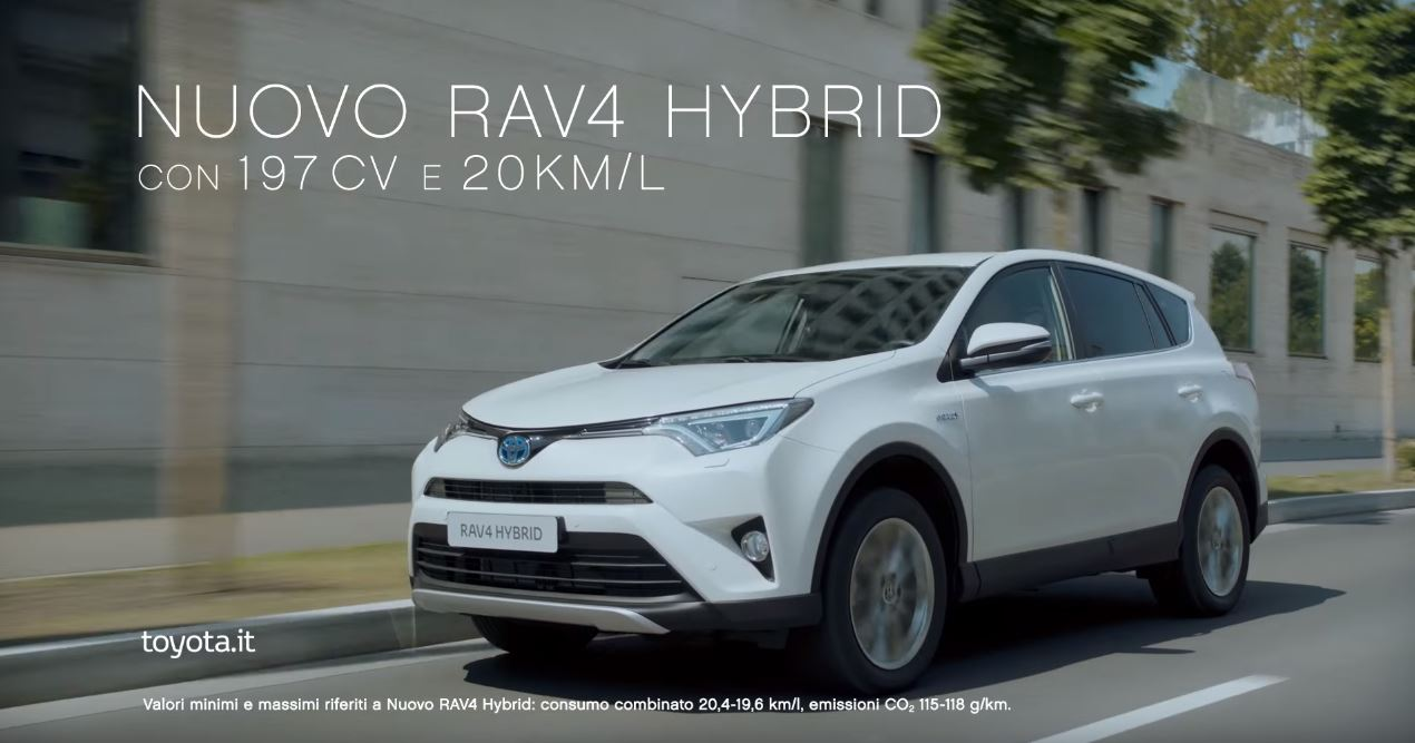 Canzone Toyota Nuovo RAV4 Hybrid Pubblicità ''Le parole di sempre...''