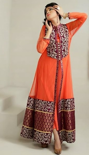 c6a237e2f Pakistani Front Open Double Shirt Trends 2015