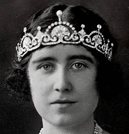 Lotus Flower Tiara Queen Elizabeth United Kingdom