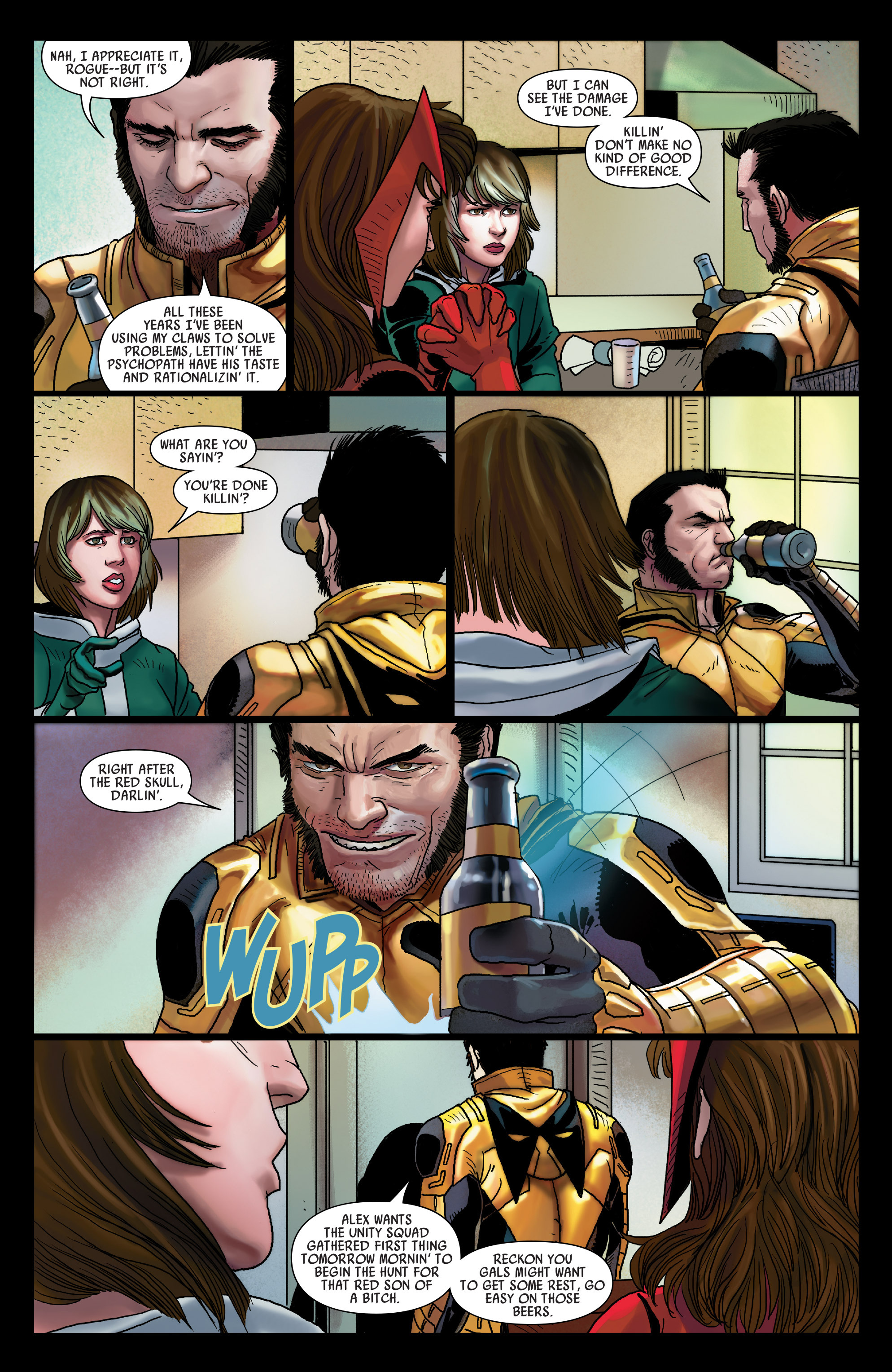 Read online Uncanny Avengers (2012) comic -  Issue #24 - 8