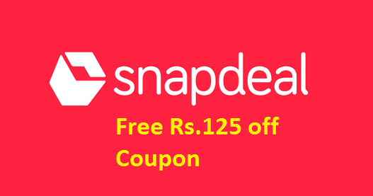Image result for Snapdeal Visa Offer Rs.125 Off On Purchasing Of Rs.500