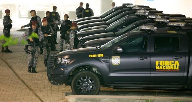 Ceará vai receber mais 200 agentes da Força Nacional, diz Governo do Estado