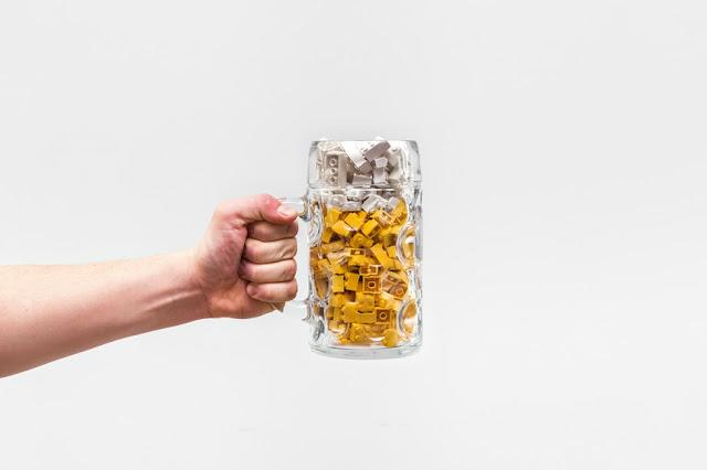 ingeniosas fotografías de la vida diaria con LEGO