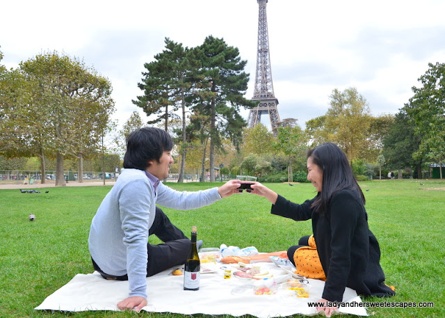Picnic in Champ de Mars