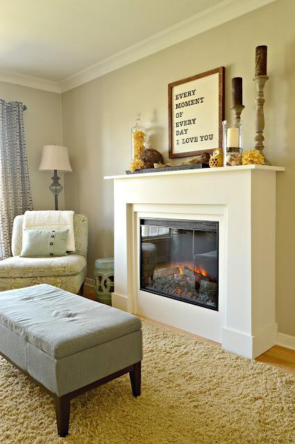 KRUSE'S WORKSHOP: Custom Electric Fireplace Surround