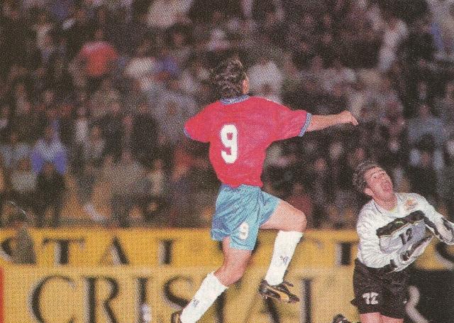Chile y Bulgaria en Copa Ciudad de Valparaíso, 12 de febrero de 2000