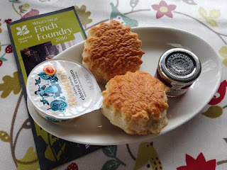 Finch Foundry scones