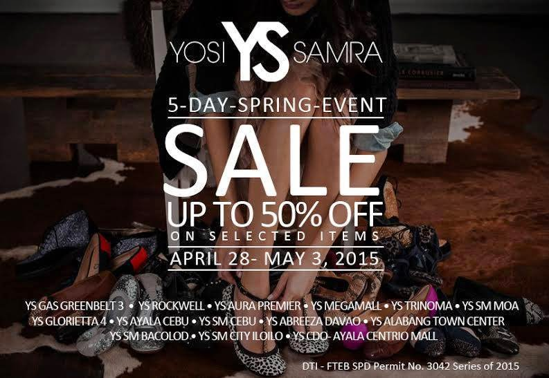 38c83fb29d Yosi Samra 5-day Spring SALE  Apr - May 2015