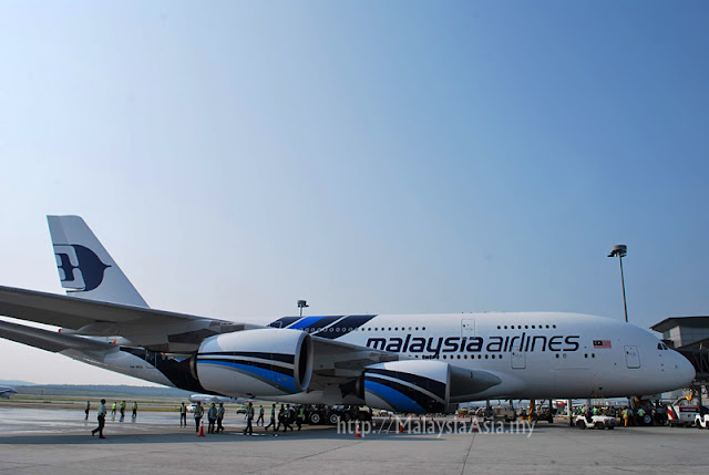 Photo of Malaysia Airlines A380