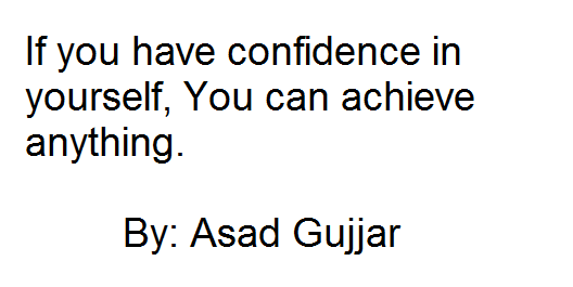 quotations by asad hussain