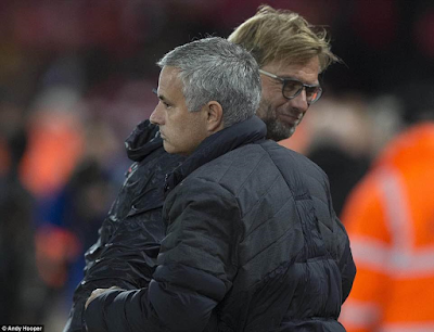 Photos: Liverpool 1-1 Man U (Jose Mourinho shows he's the king of tactics)